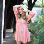 Tunic Dress Provides Femininity to Both Slender and Curvy Women