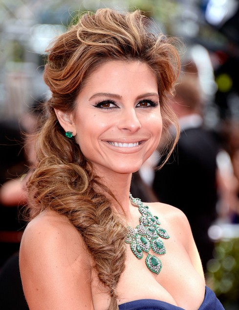 Maria-Menounos-Hairstyles-Fishtail-Braid-Ideas-2014