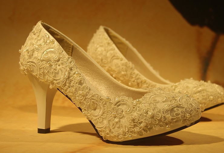 Resplendent Bridal Shoes for Stunning Brides