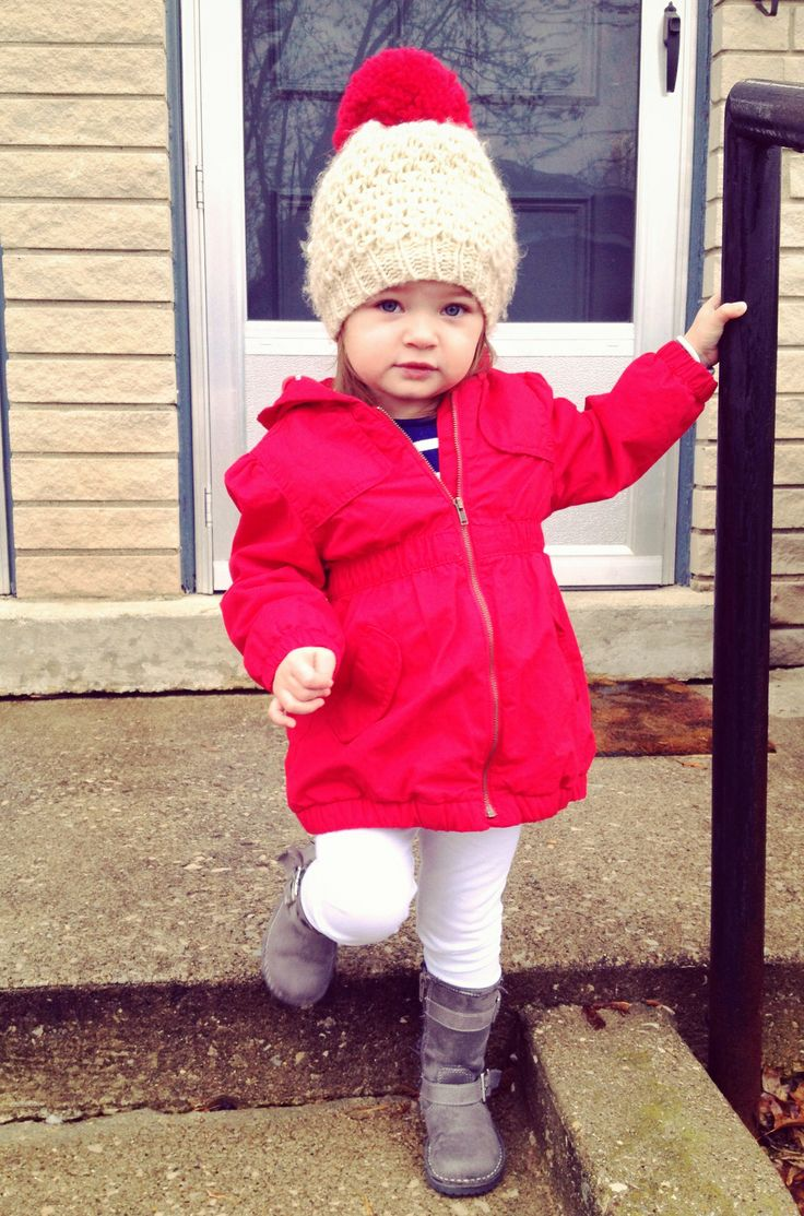 Lovable Little Girls Winter Outfit Ideas