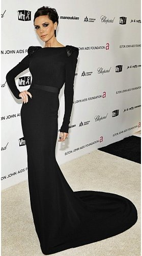 Victoria-Beckham-Black-Evening-Dress1