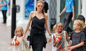 Angelina Jolie Street Style an Inspirational Diva Fashion