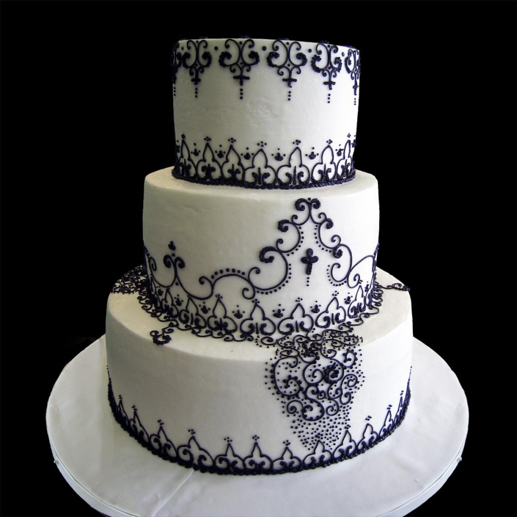 black and white wedding cakes designs wedding cakes for your memorable day ohh my my 11849