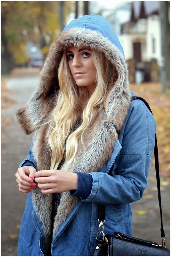 fur street fashion...