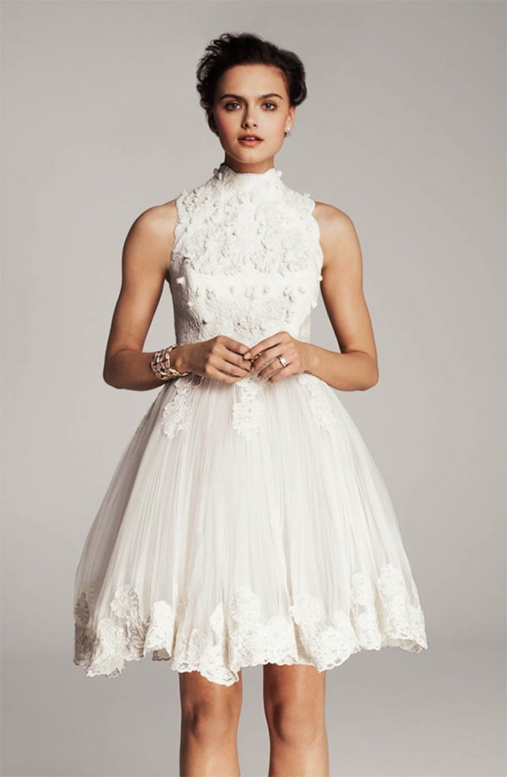lace-little-white-wedding-dresses-for-the-wedding-reception