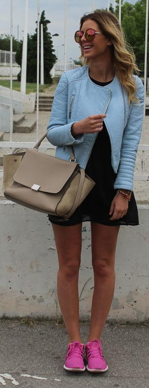 Little-Black-Dress-Blue-Leather-Jacket-Outfit