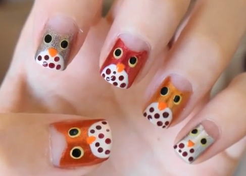 Nail Art for Fall