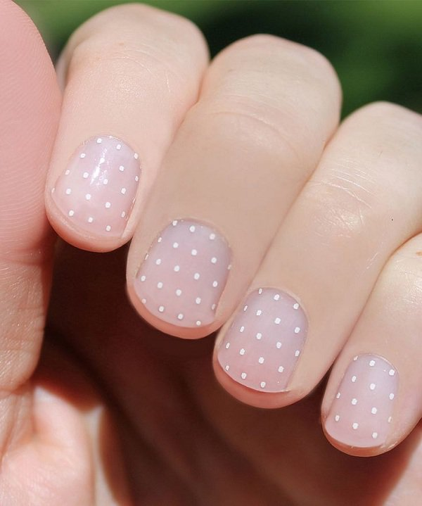 Clear-Polka-Dot-Nail-Design