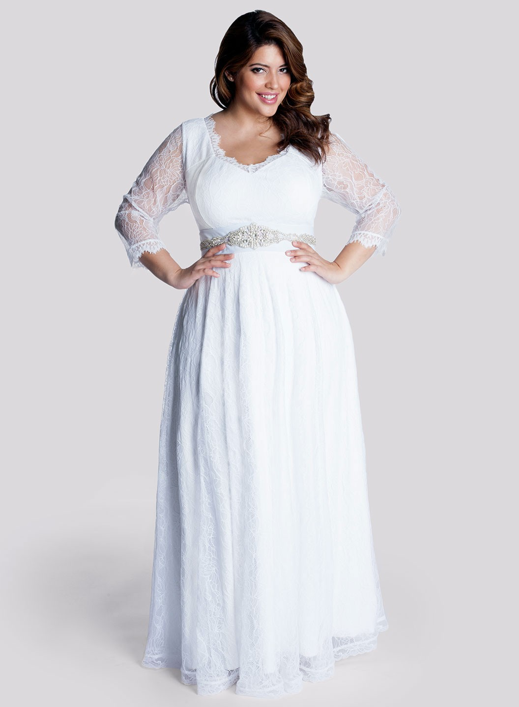 Cute Plus Size Wedding Dresses
