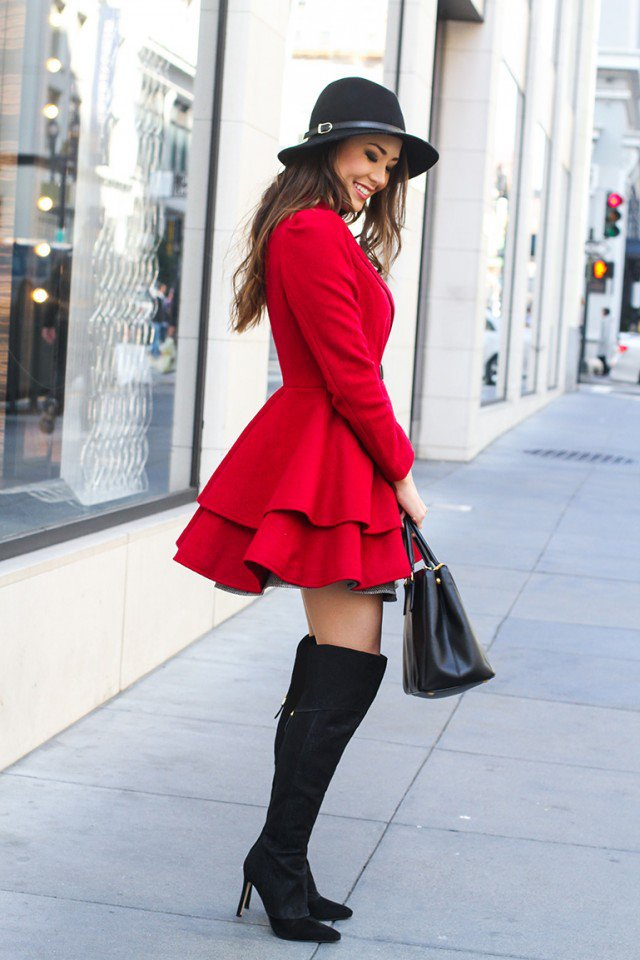 Elegant Over the Knee Boots