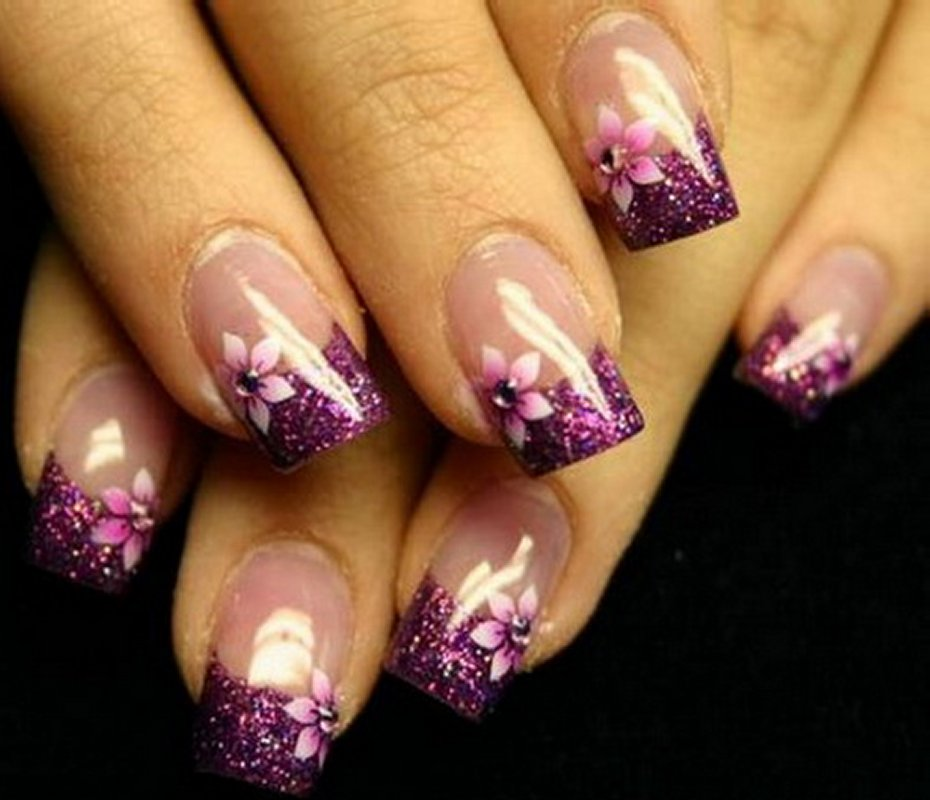 French Design Nail Art Gallery: Nail Art Designs For A Complete Unique Look