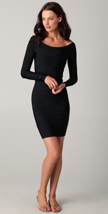 Fabulous Black Cocktail Dress