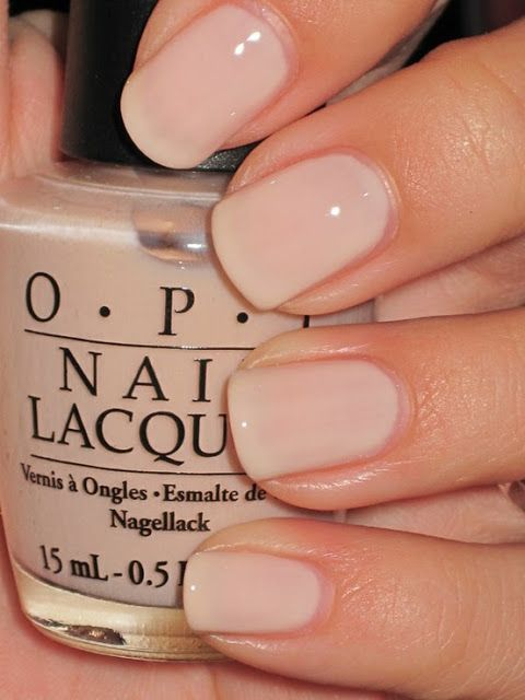 Pastel-Nude-Wedding-Nail-Idea
