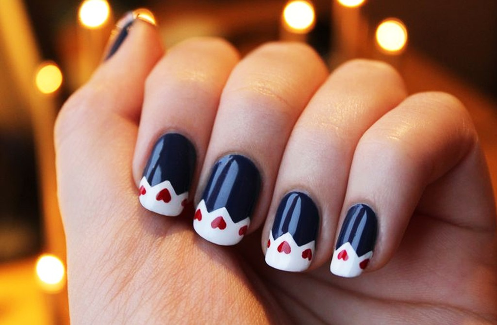 Trendy Winter Nail Art