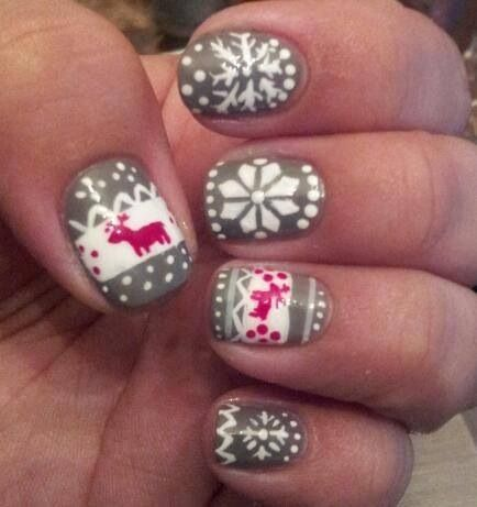 Winter Nail Art Designs