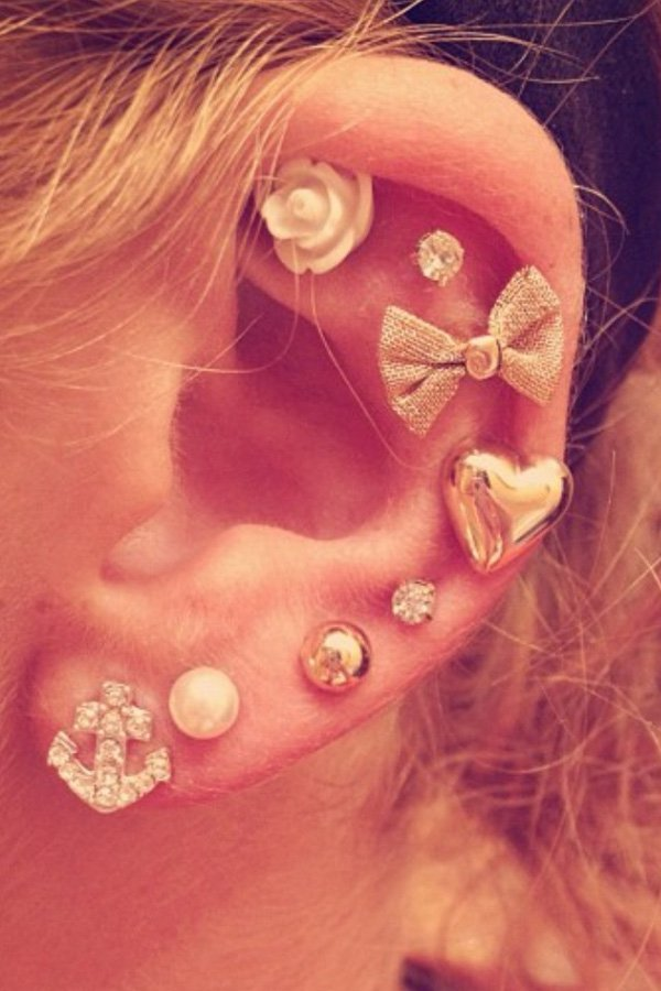 Gorgeous Ear Piercings