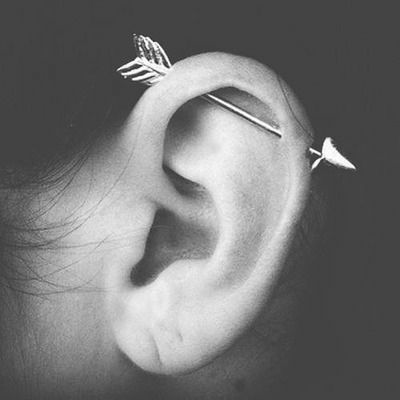 Trendy Ear Piercings