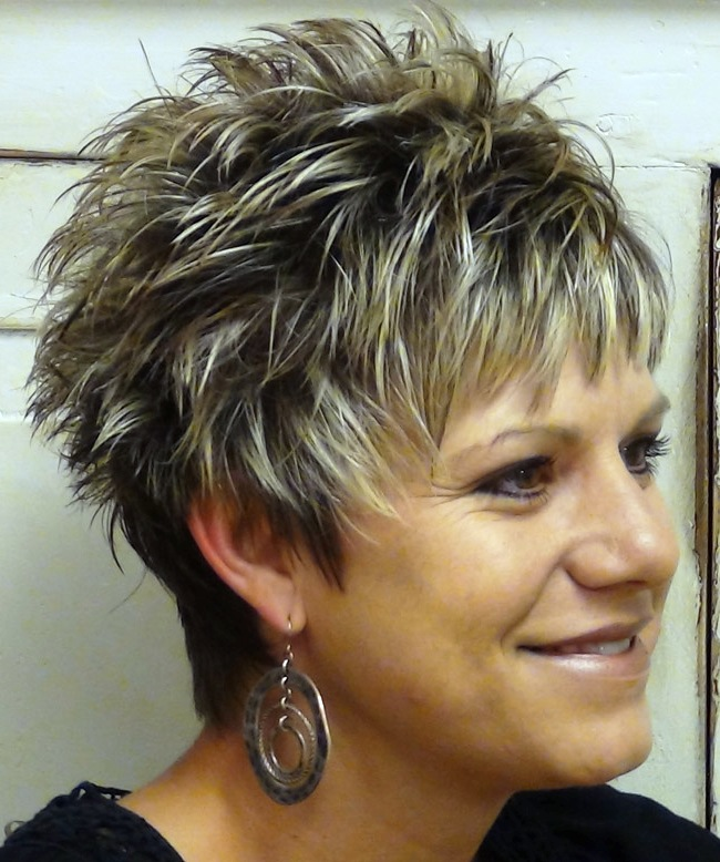 how to style spiky hair for women bold and beautiful spiky haircuts for ohh my my 9233 | Short Spikey Hairstyles for Women over 40