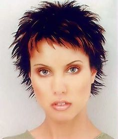 Spiky Haircuts for Women.