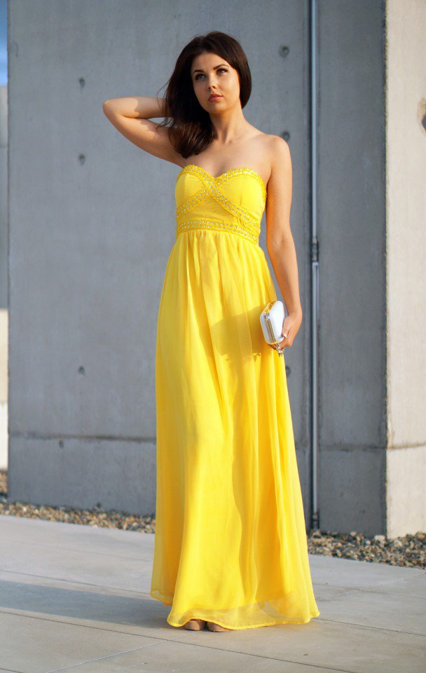 Yellow-Maxi-Dress