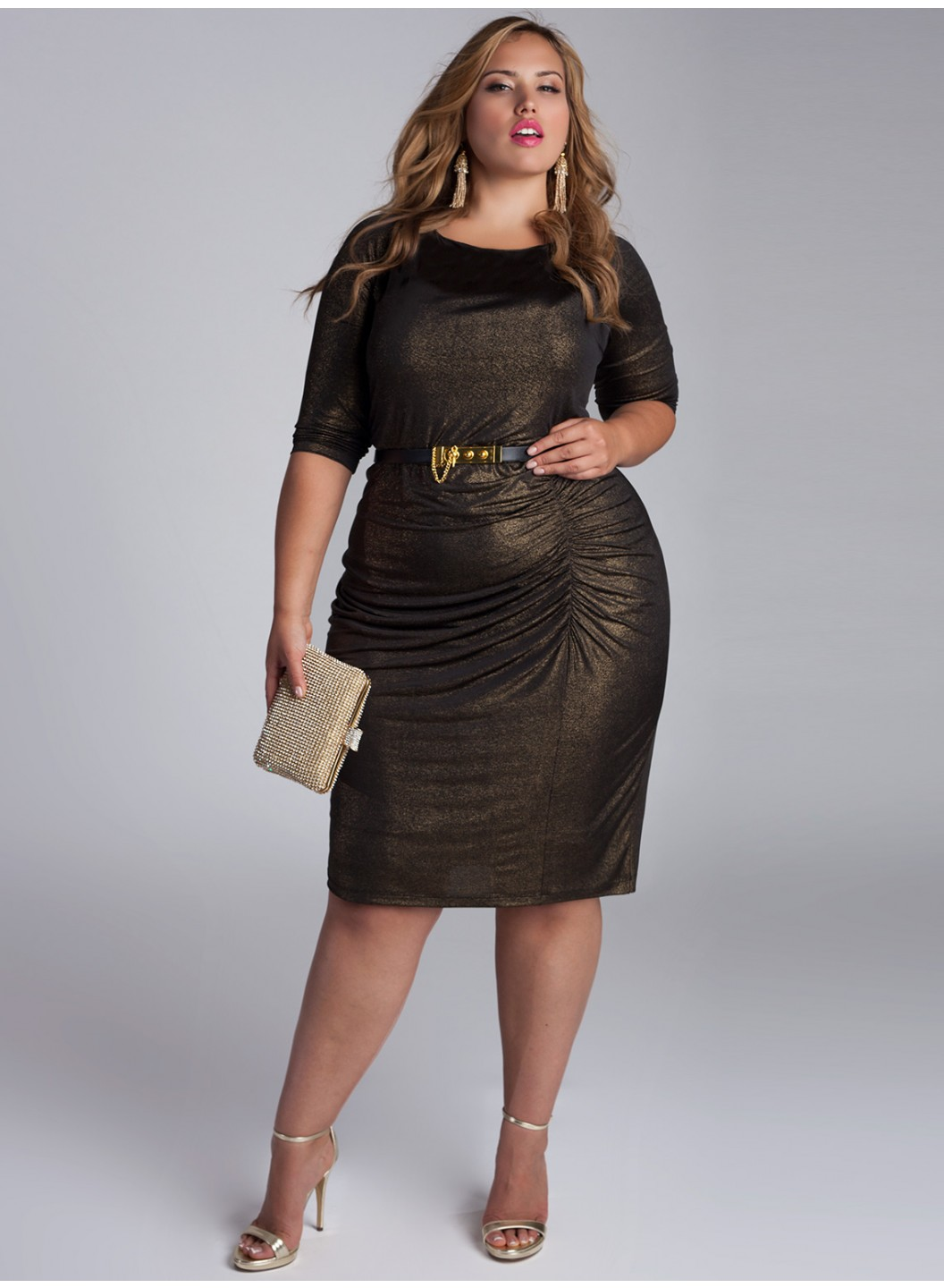 plus-size-cocktail-dresses-nezetta-black-gold-front