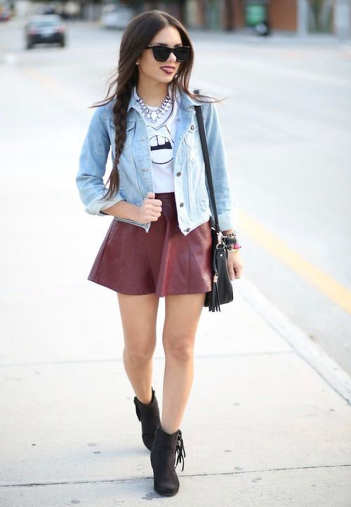 Cute and Cool Skirts Outfits for Girls - Ohh My My