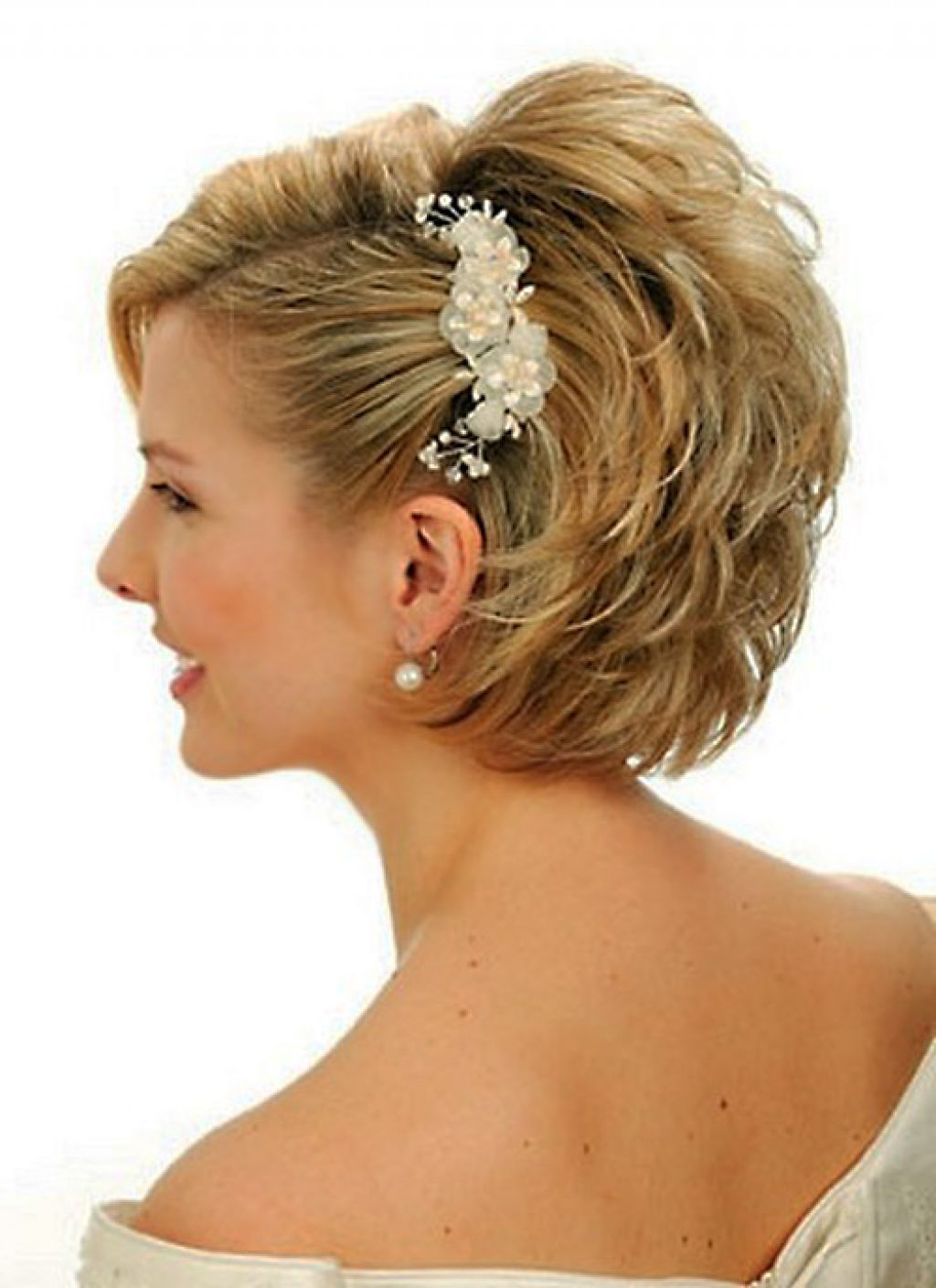 Short Wedding Hairstyles That Makes You Princess - Ohh My My