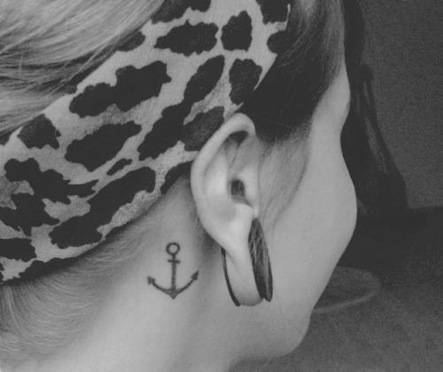 ear is the best place to have tattoo