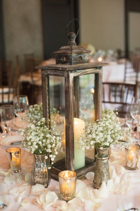 Cool Rustic Wedding Centerpieces