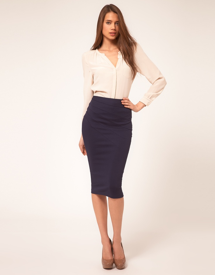 gorgeous-and-girlish-pencil-skirt-outfits-for-work