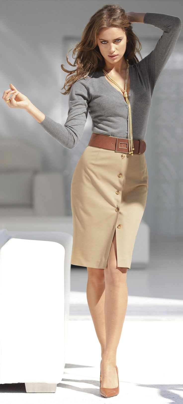 Charming And Sexy Outfits For Work
