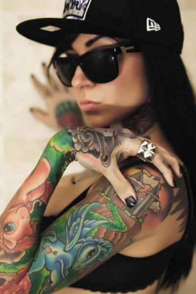 Great Sleeve Tattoo Ideas For Women