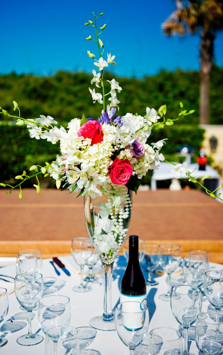 Marvelous Summer Wedding Centerpieces