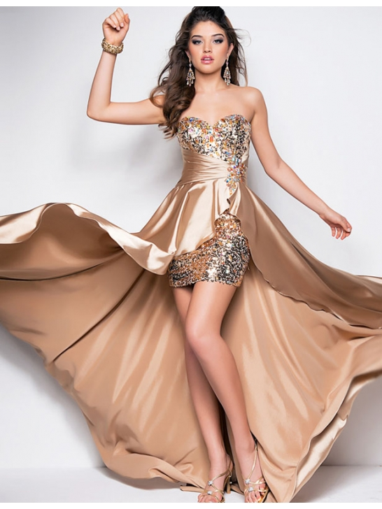 beautiful-and-sexy-sweetheart-short-and-long-beading-prom-party-dress