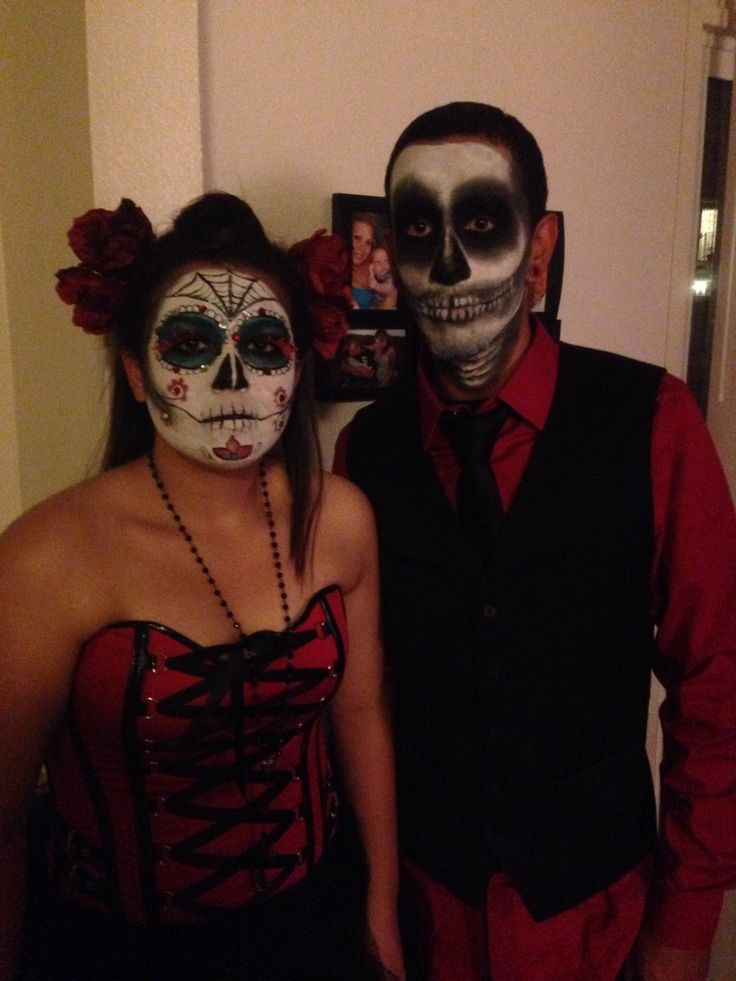 Amazing Halloween Makeup for Couples