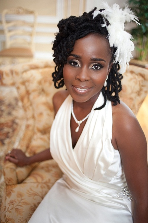 Black Wedding Hairstyles For Bridesmaids