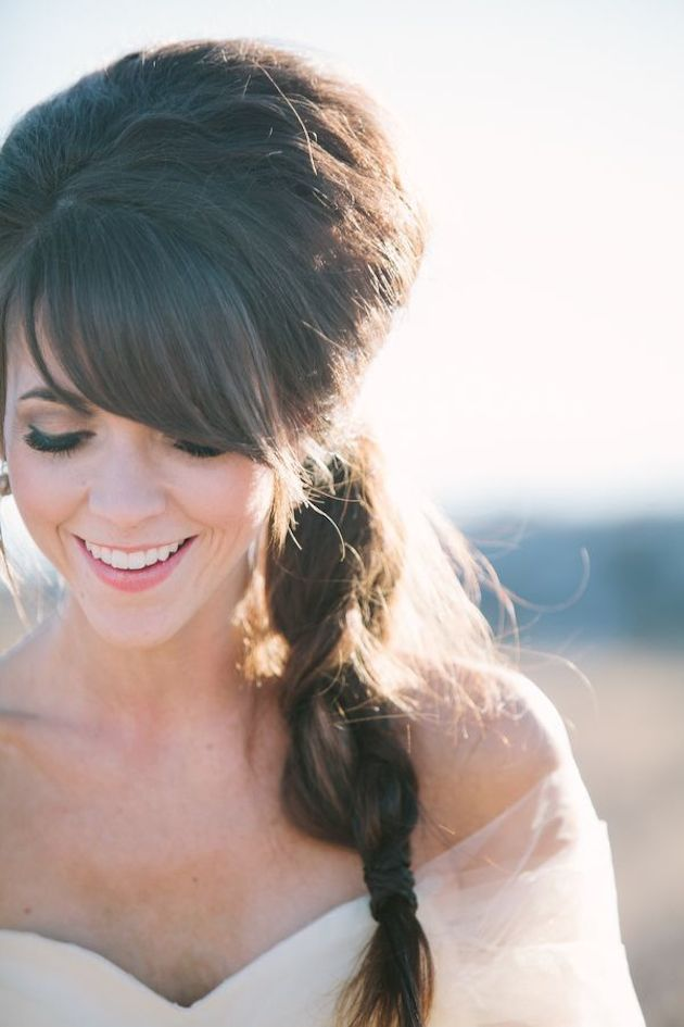 Wedding Hairstyles For Bridesmaids With Bangs