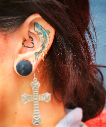 Super Ear Tattoos