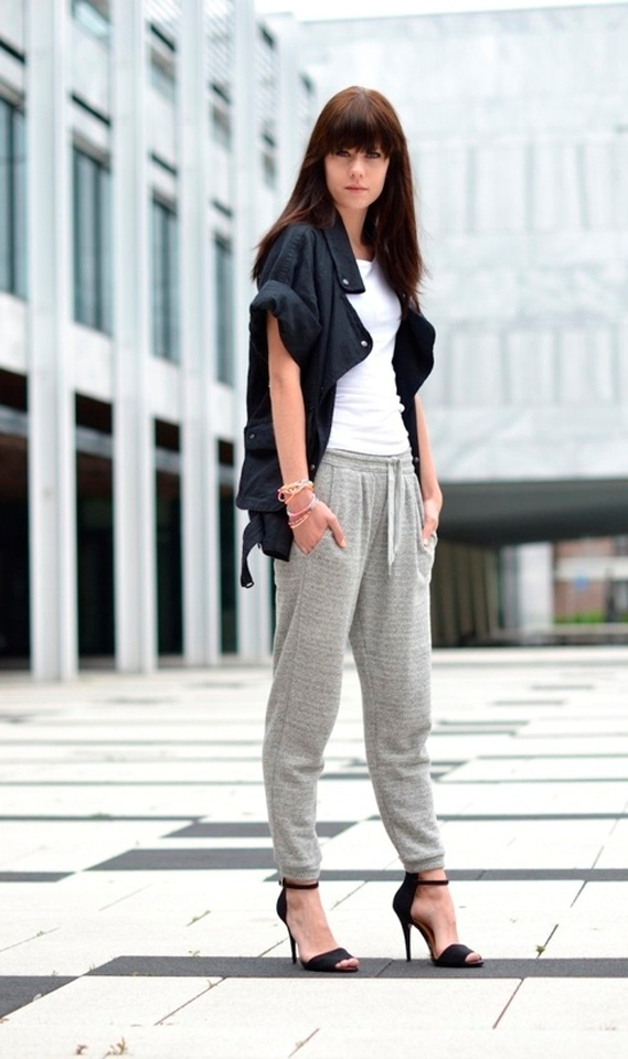 Most Stylish Sweatpants Outfits For Women - Ohh My My