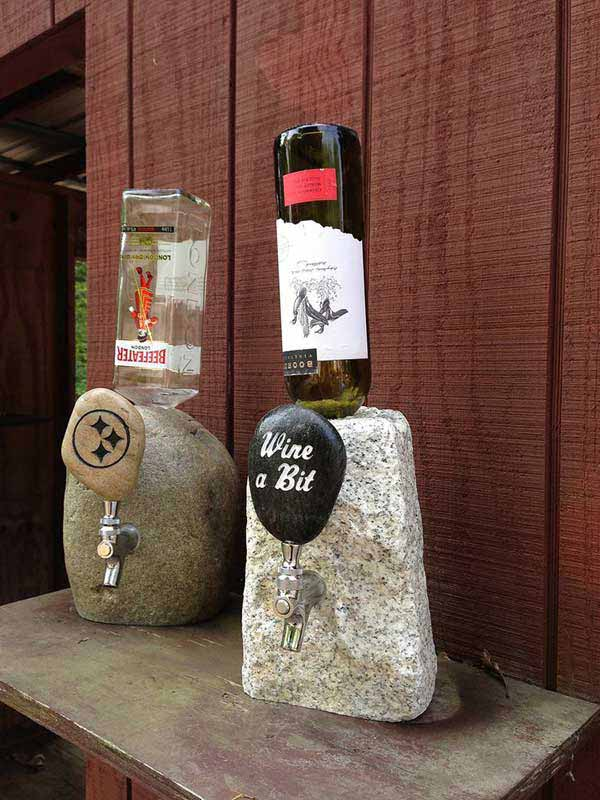 stone-drink-dispenser