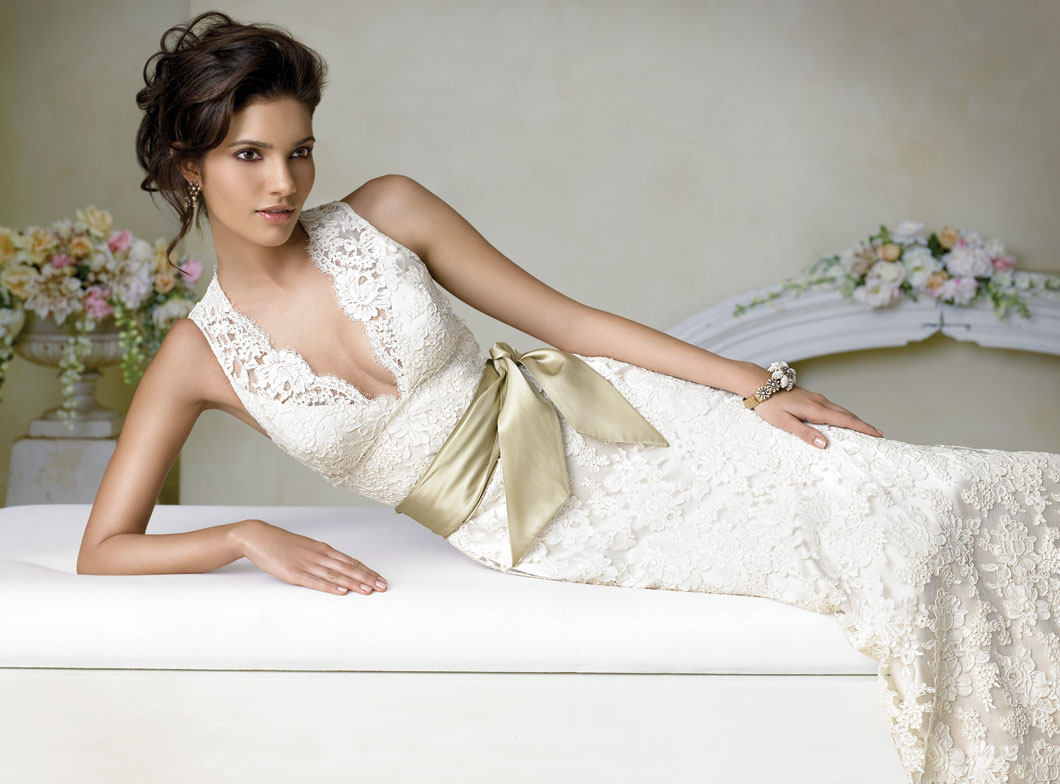 Lace Wedding Dresses – Vintage And Sophisticated